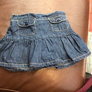 Denim skirt 18 months
